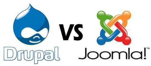 Drupal vs Joomla