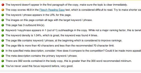 Analyzing Page