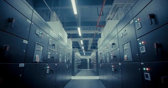 server racks room